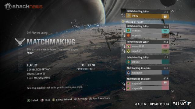 Halo Reach Matchmaking